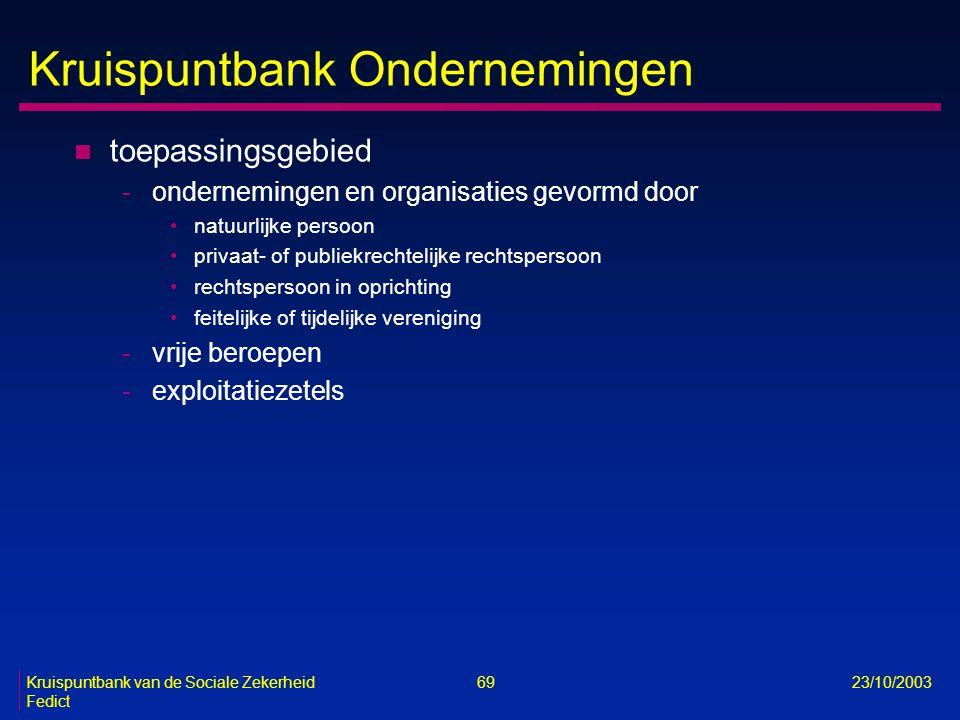 Kruispuntbank Ondernemingen