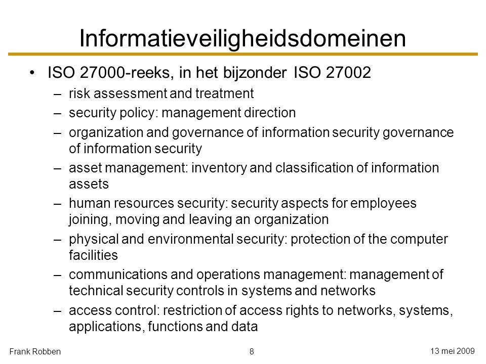 Informatieveiligheidsdomeinen