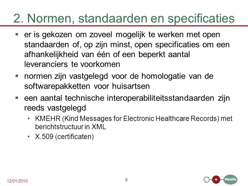 2. Normen, standaarden en specificaties