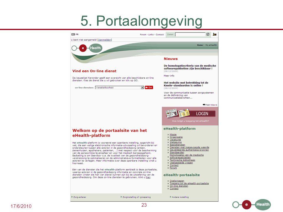5. Portaalomgeving