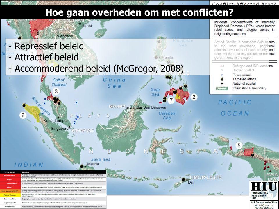 Hoe gaan overheden om met conflicten