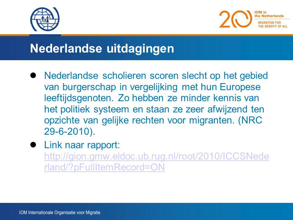 Nederlandse uitdagingen