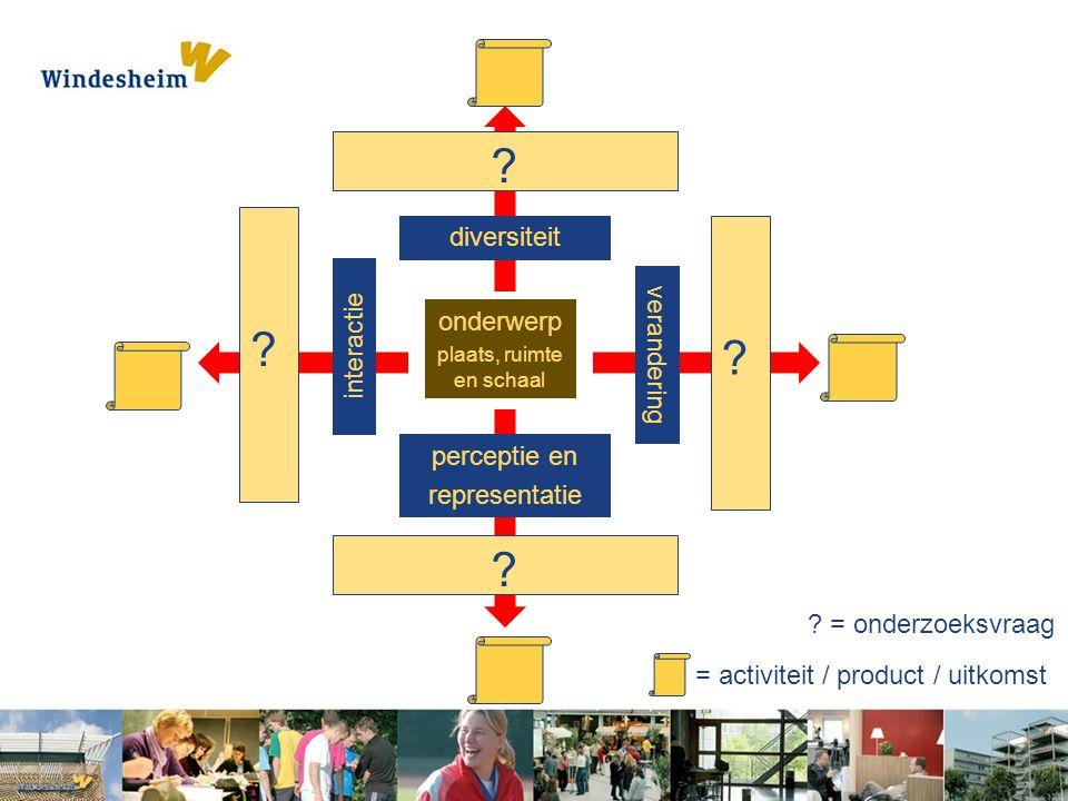 diversiteit onderwerp interactie verandering perceptie en