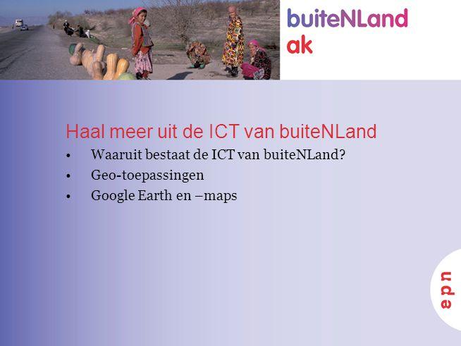 Haal meer uit de ICT van buiteNLand