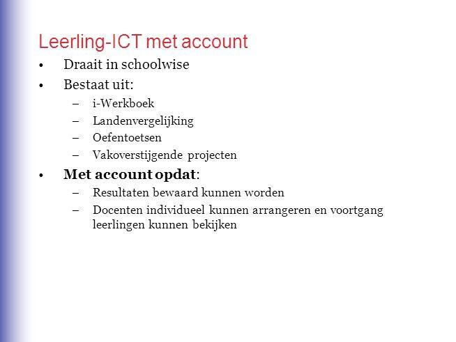 Leerling-ICT met account