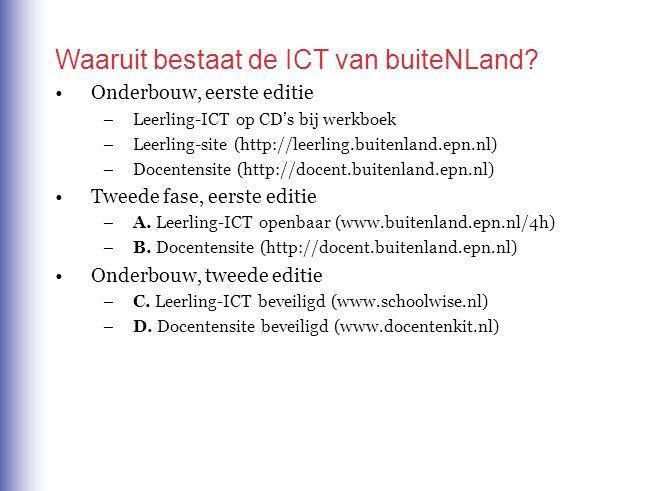 Waaruit bestaat de ICT van buiteNLand