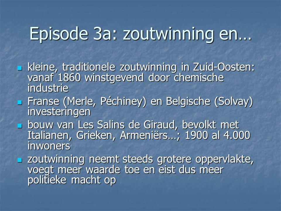 Episode 3a: zoutwinning en…