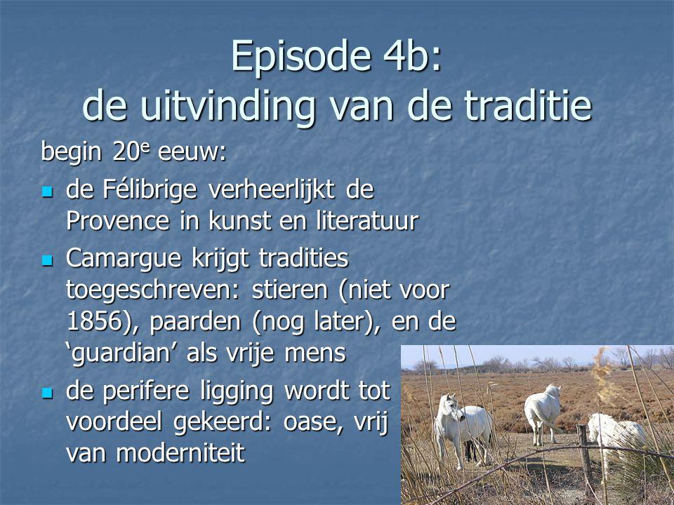 Episode 4b: de uitvinding van de traditie