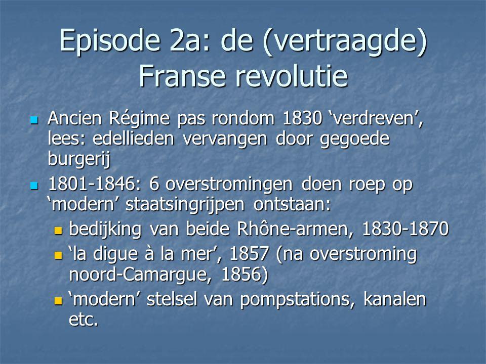 Episode 2a: de (vertraagde) Franse revolutie