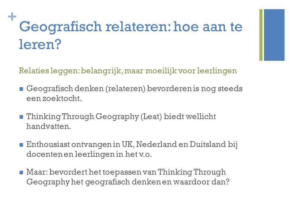Geografisch relateren: hoe aan te leren