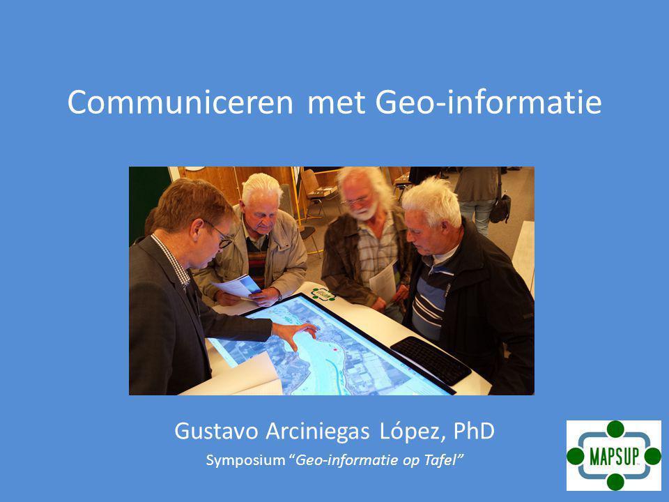Communiceren met Geo-informatie