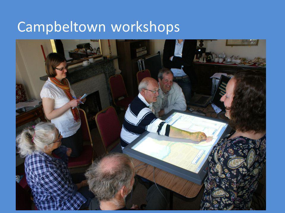 Campbeltown workshops
