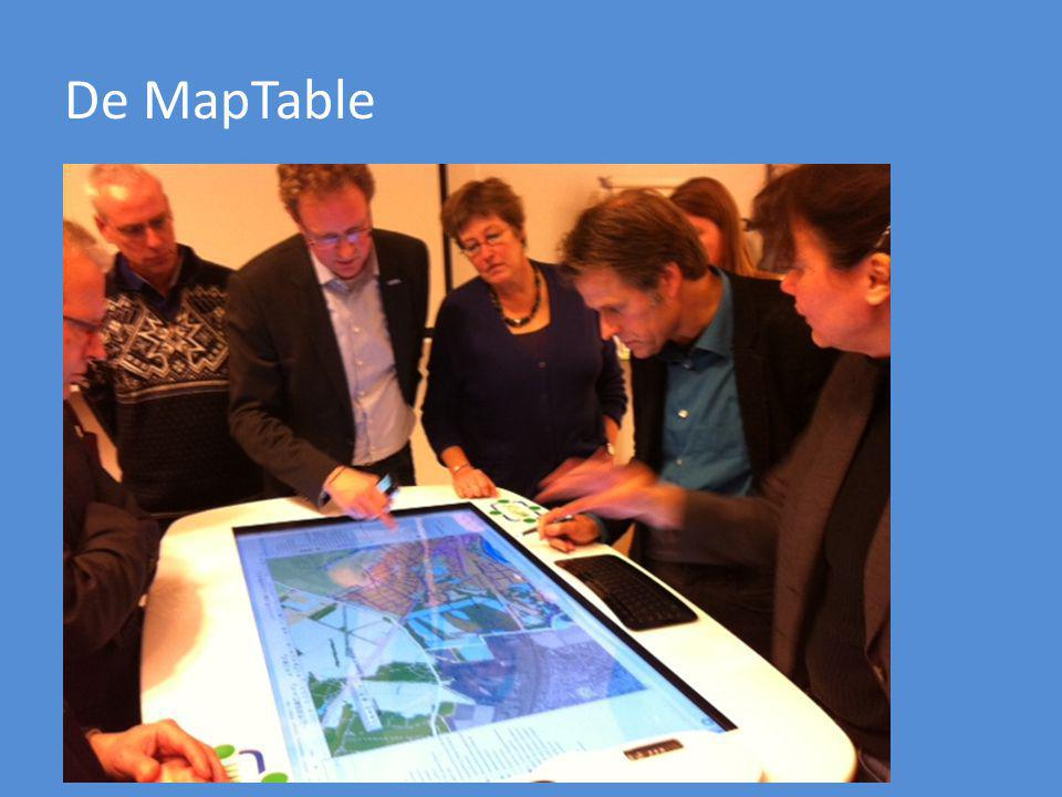 De MapTable Hier een foto van de MapTable.