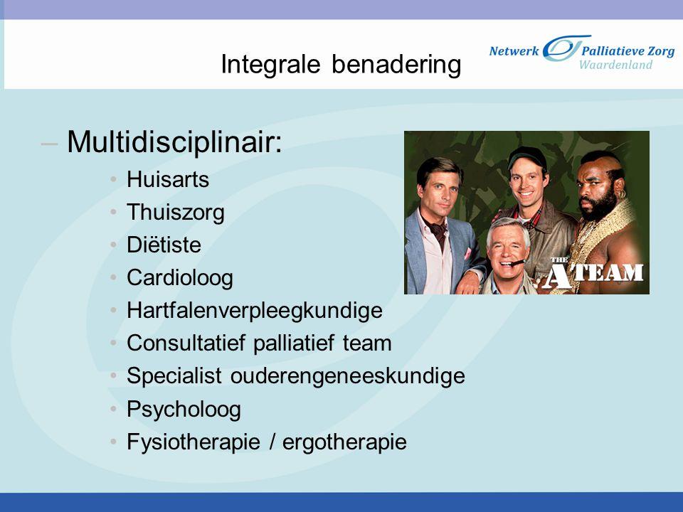 Multidisciplinair: Integrale benadering Huisarts Thuiszorg Diëtiste