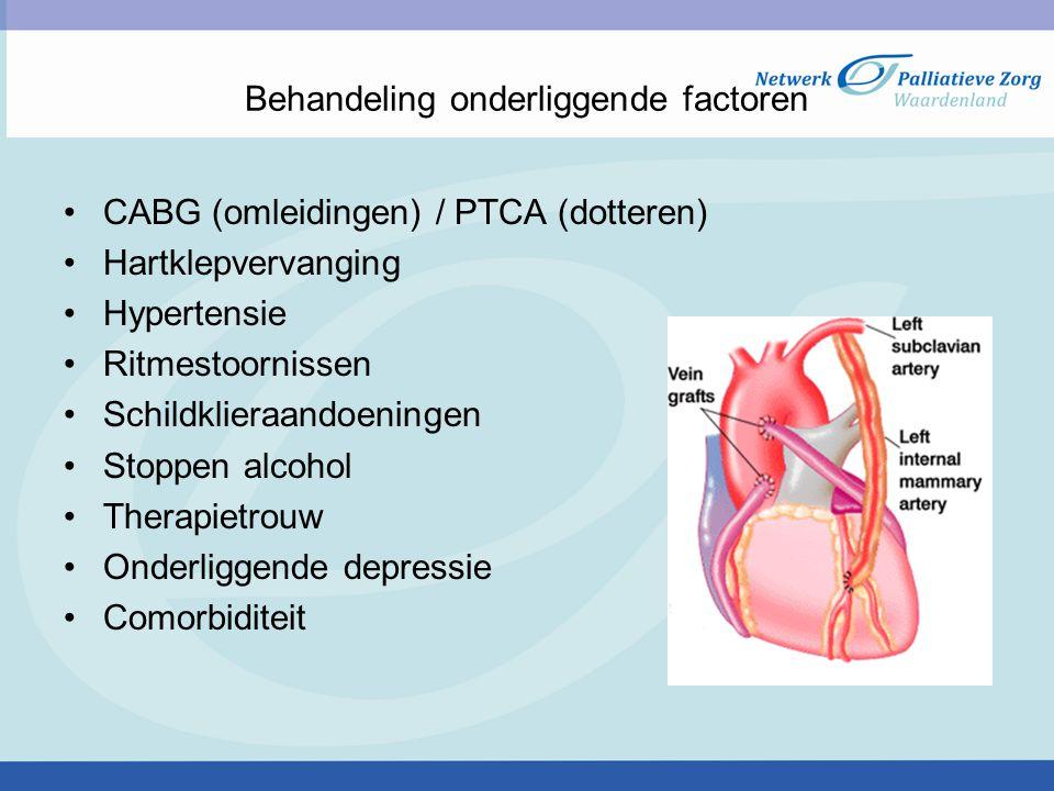 Behandeling onderliggende factoren