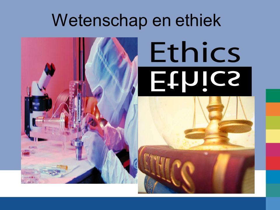 Wetenschap en ethiek