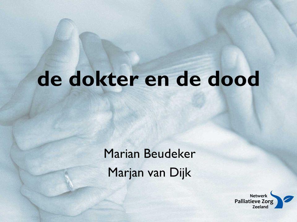de dokter en de dood Marian Beudeker Marjan van Dijk