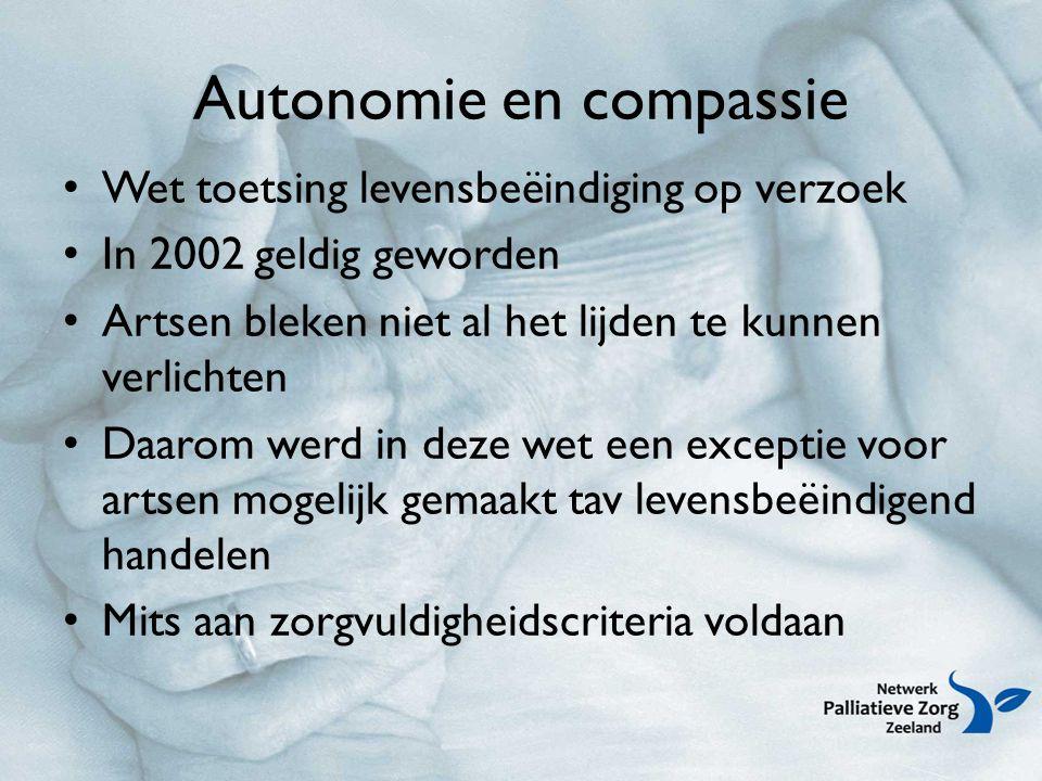 Autonomie en compassie