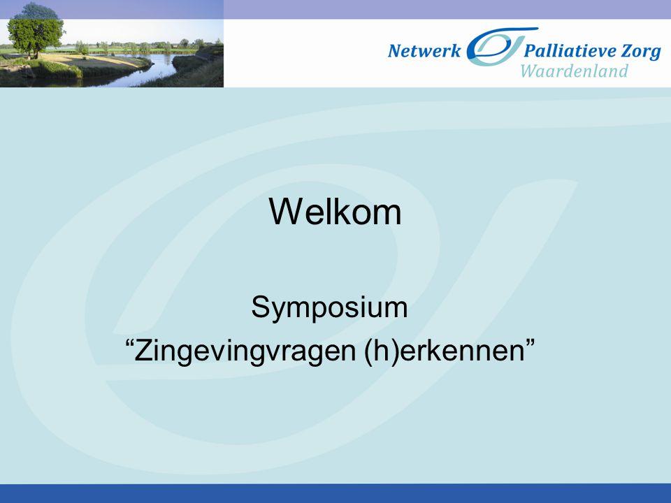 Symposium Zingevingvragen (h)erkennen