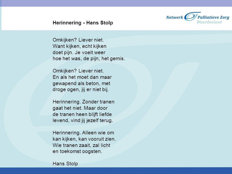 Herinnering - Hans Stolp