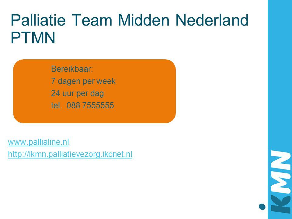 Palliatie Team Midden Nederland PTMN