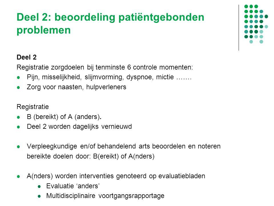 Deel 2: beoordeling patiëntgebonden problemen