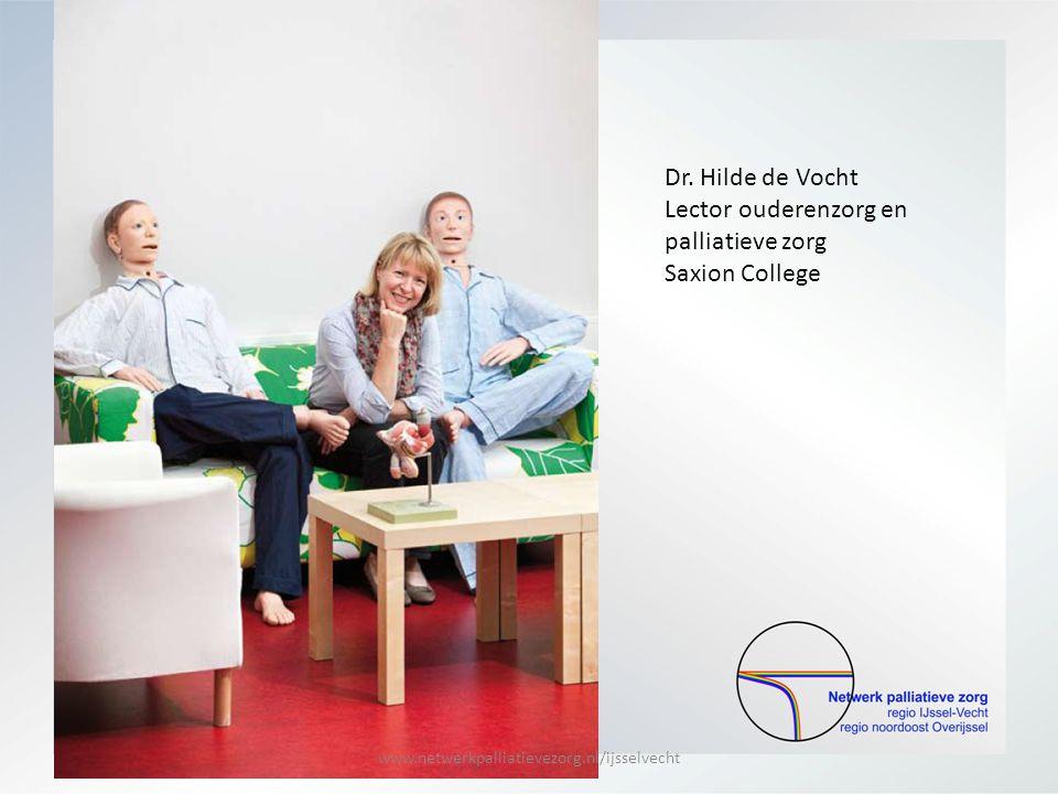 Lector ouderenzorg en palliatieve zorg Saxion College