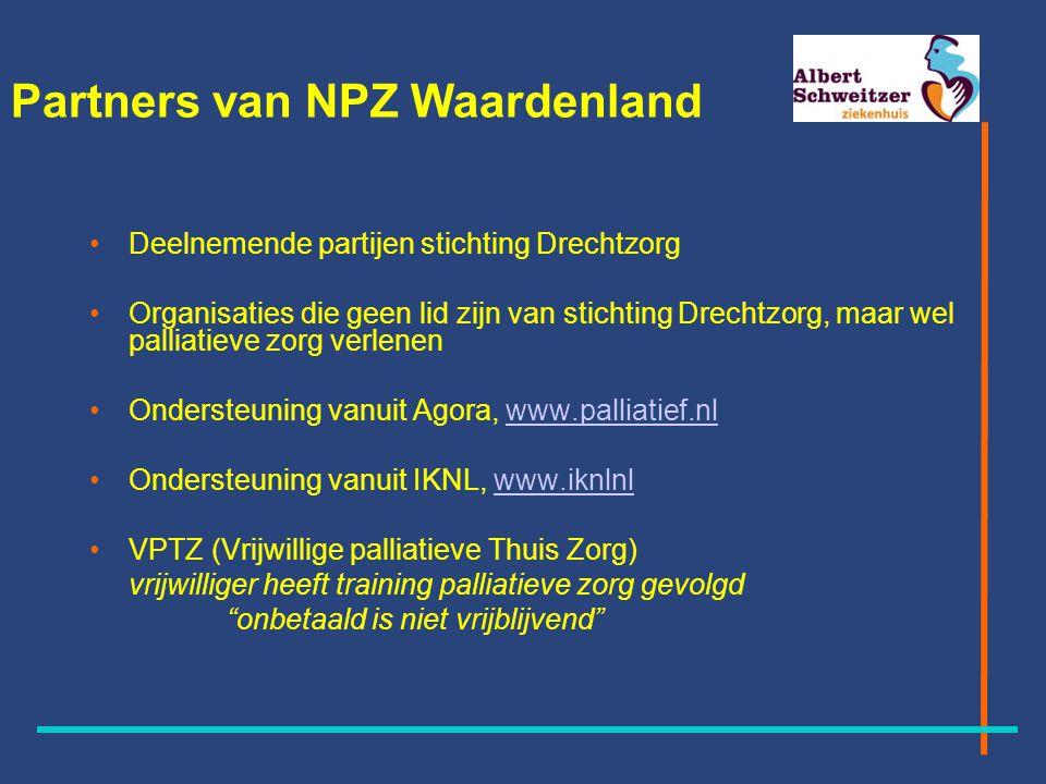 Partners van NPZ Waardenland