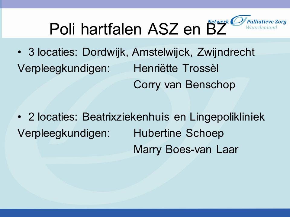 Poli hartfalen ASZ en BZ