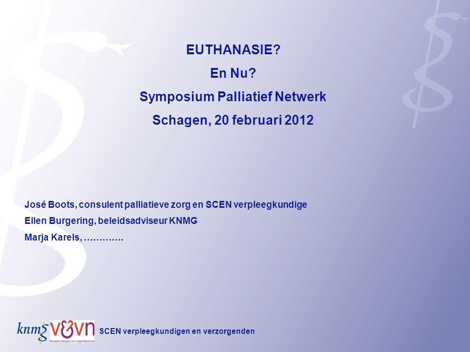 Symposium Palliatief Netwerk