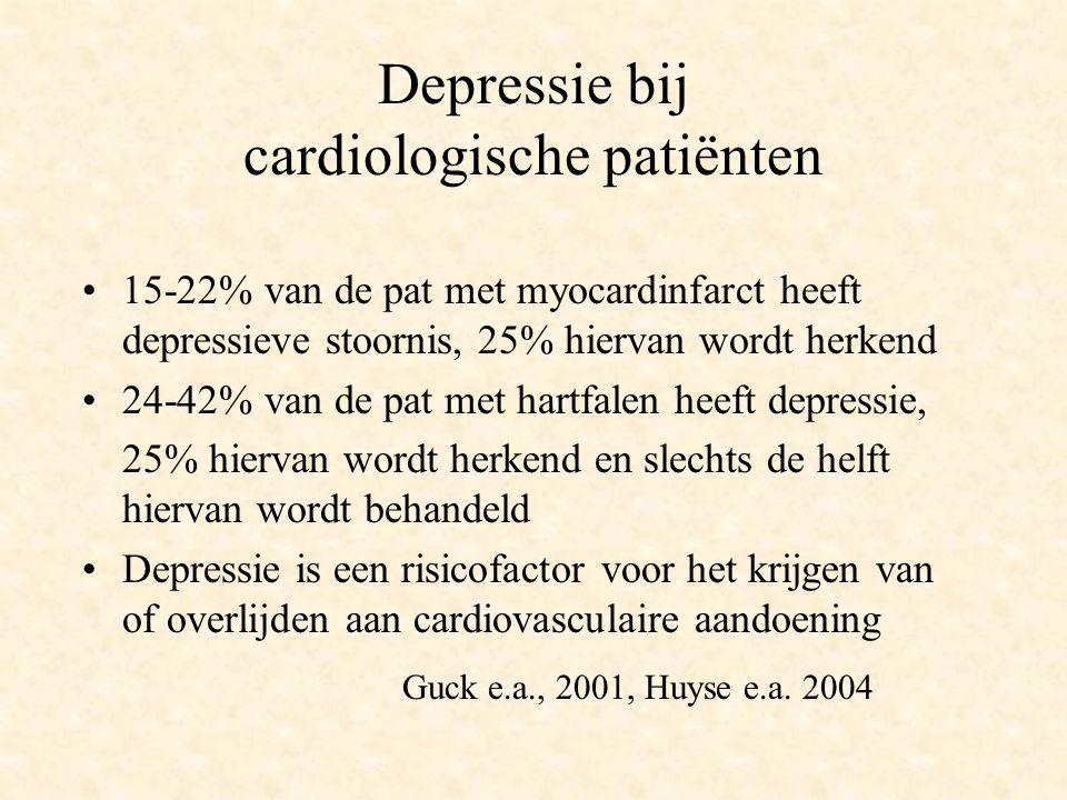 Depressie bij cardiologische patiënten