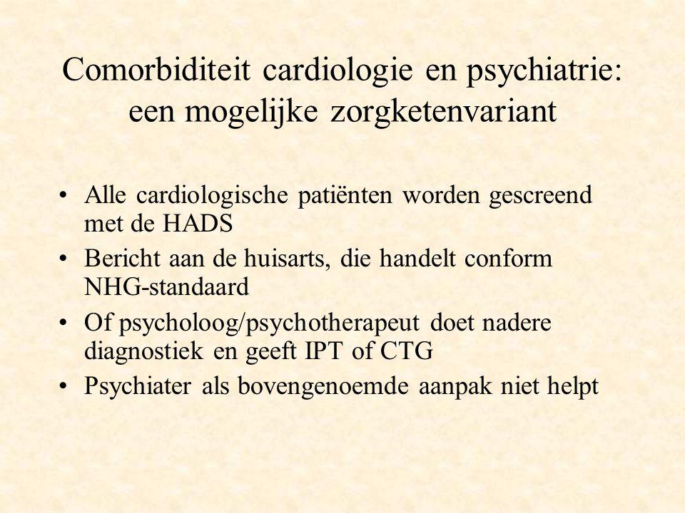 Comorbiditeit cardiologie en psychiatrie: een mogelijke zorgketenvariant