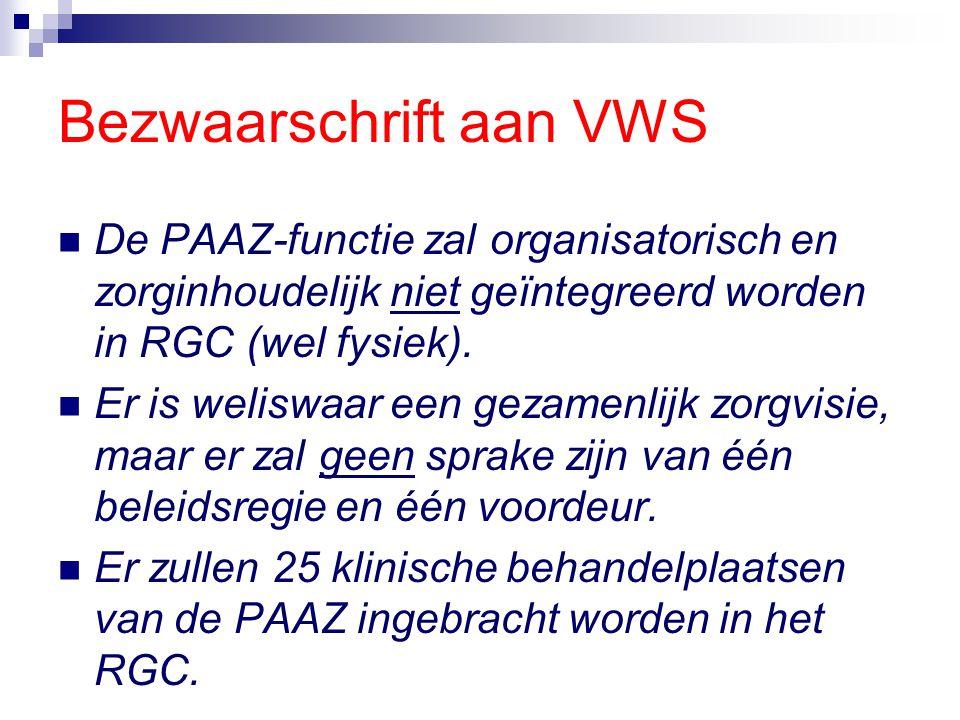 Bezwaarschrift aan VWS