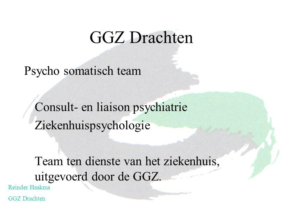 GGZ Drachten Psycho somatisch team Consult- en liaison psychiatrie