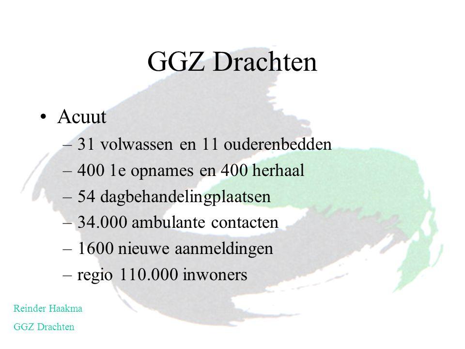 GGZ Drachten Acuut 31 volwassen en 11 ouderenbedden