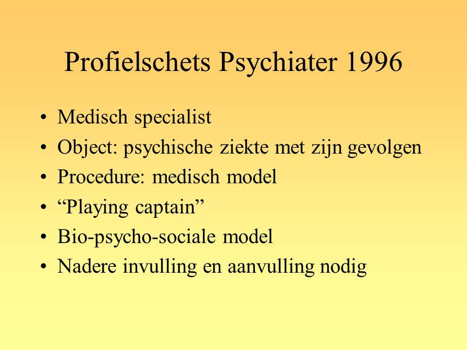 Profielschets Psychiater 1996