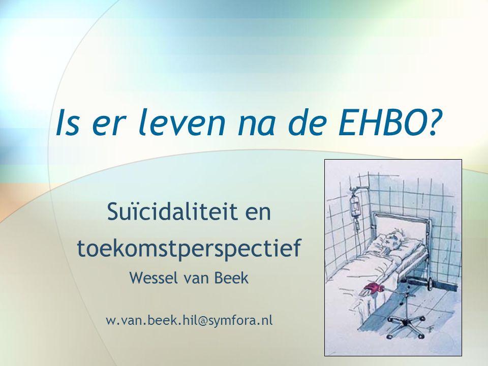 Is er leven na de EHBO Suïcidaliteit en toekomstperspectief
