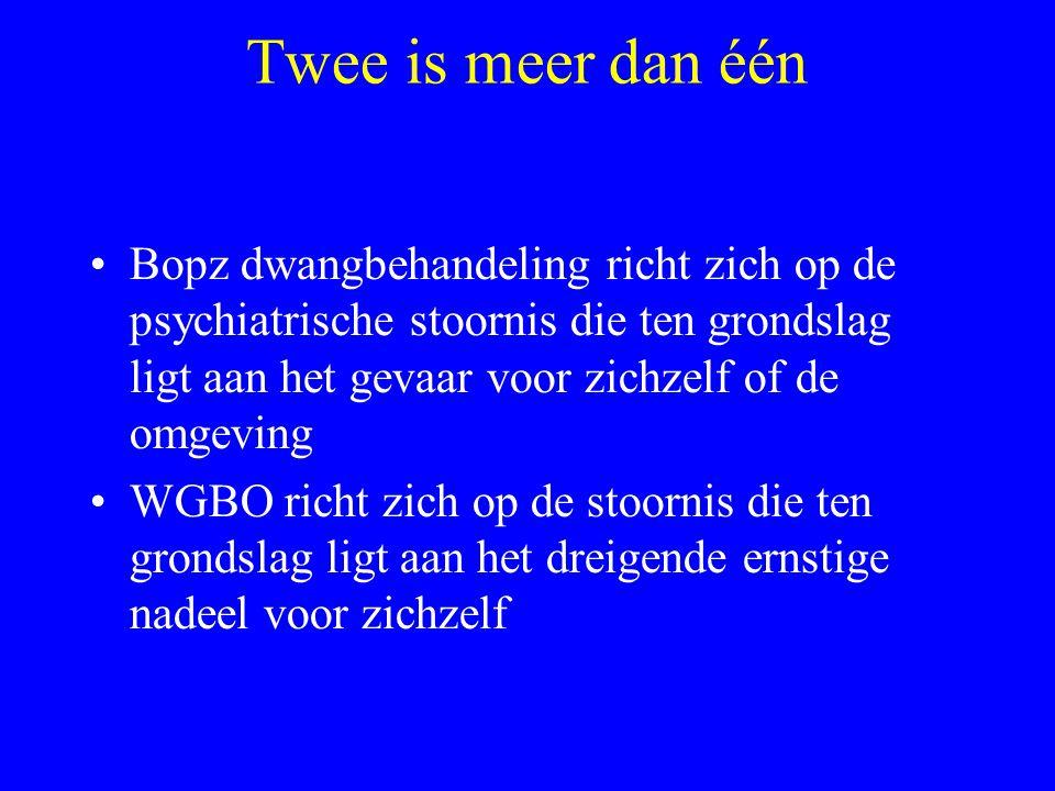 Twee is meer dan één