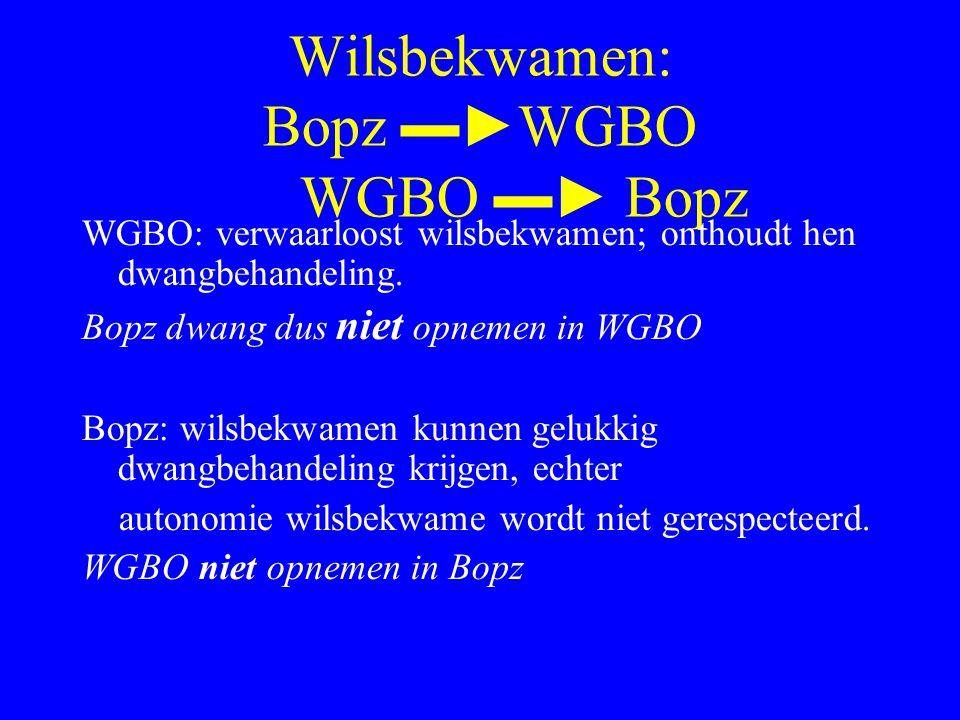 Wilsbekwamen: Bopz ▬►WGBO WGBO ▬► Bopz