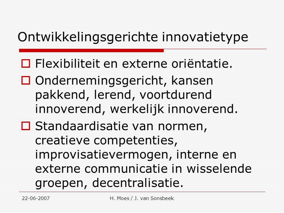 Ontwikkelingsgerichte innovatietype