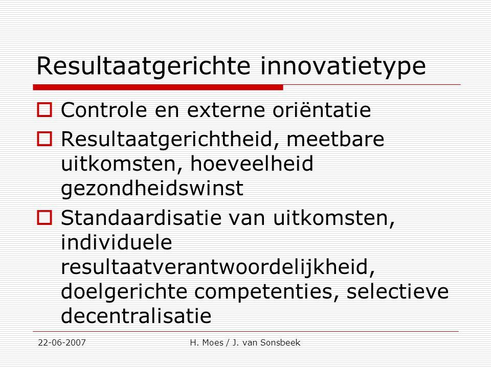 Resultaatgerichte innovatietype