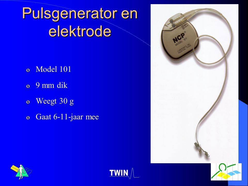 Pulsgenerator en elektrode