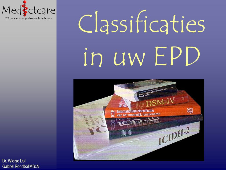 Classificaties in uw EPD