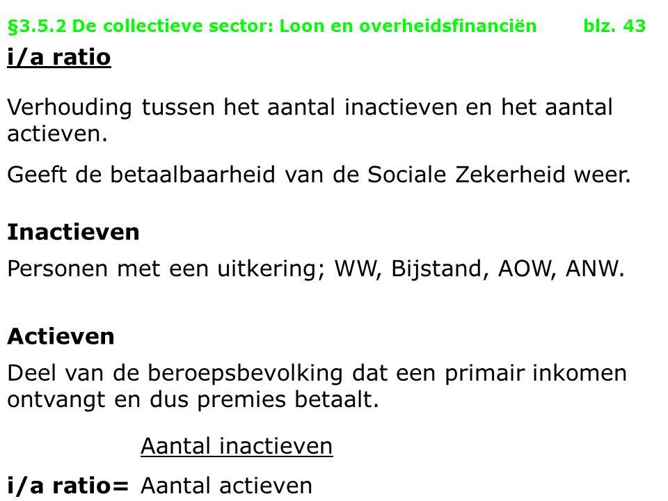 §3.5.2 De collectieve sector: Loon en overheidsfinanciën blz. 43