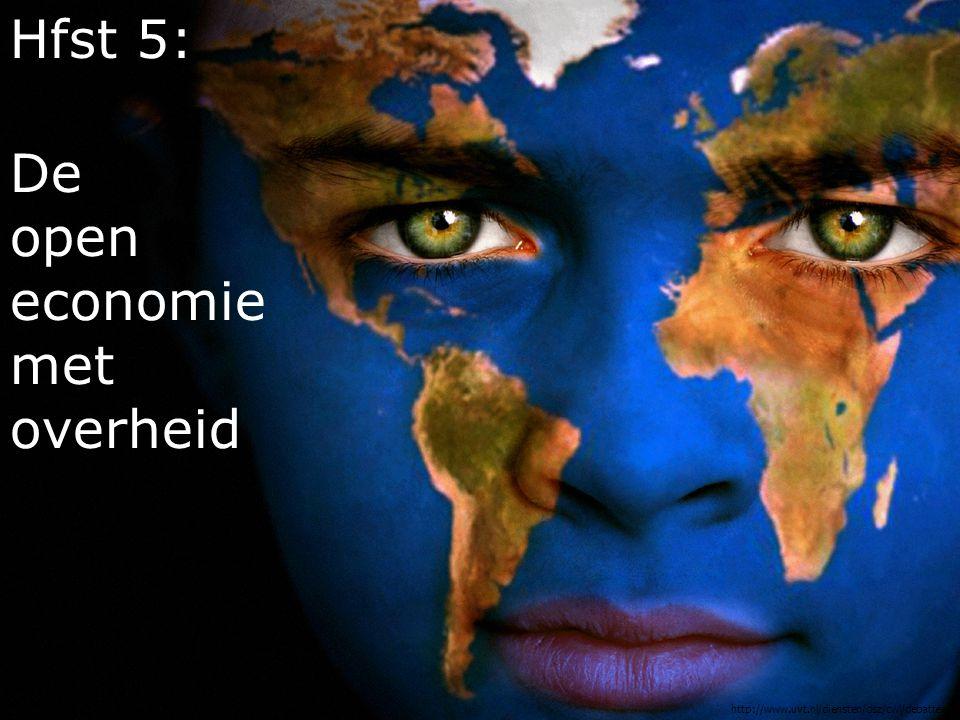 Hfst 5: De open economie met overheid