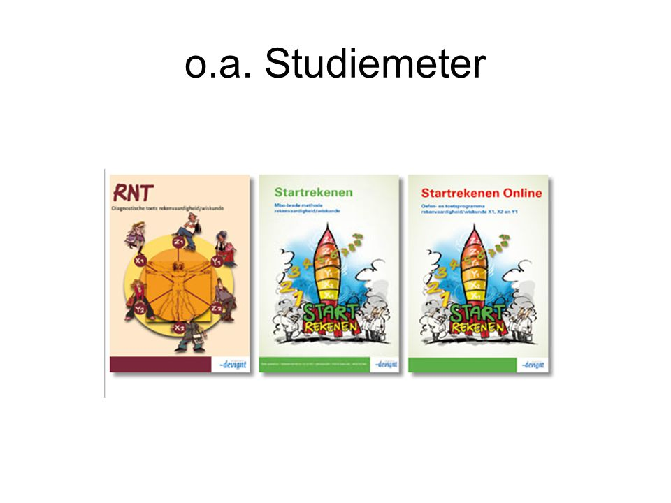 o.a. Studiemeter