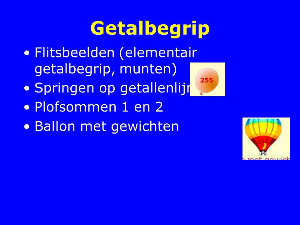 Getalbegrip Flitsbeelden (elementair getalbegrip, munten)