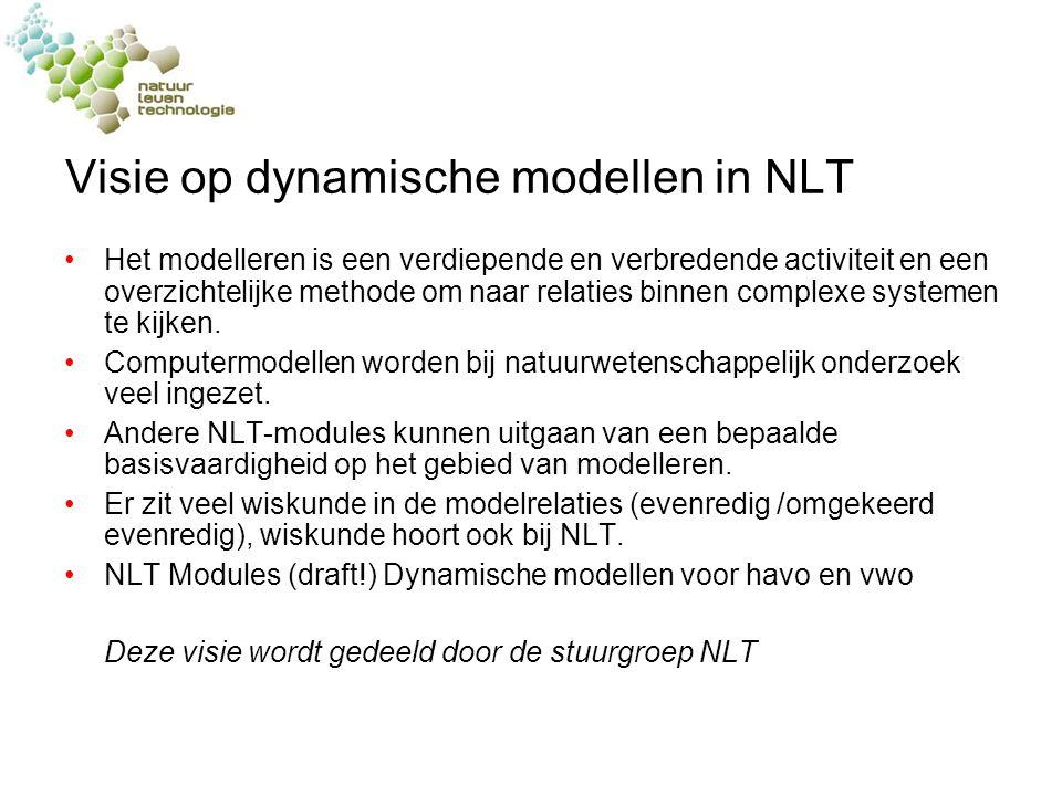 Visie op dynamische modellen in NLT