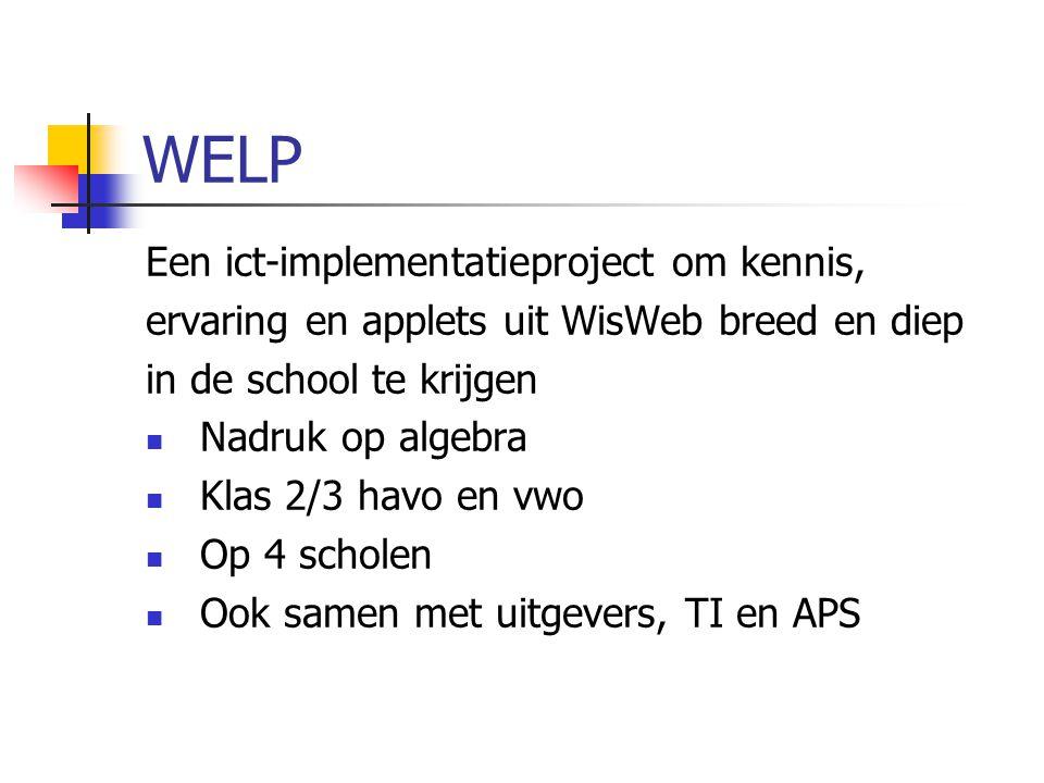 WELP Een ict-implementatieproject om kennis,
