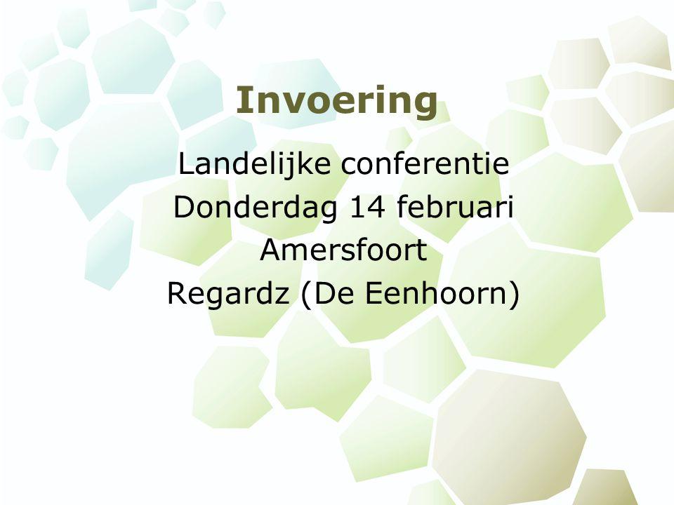 Landelijke conferentie
